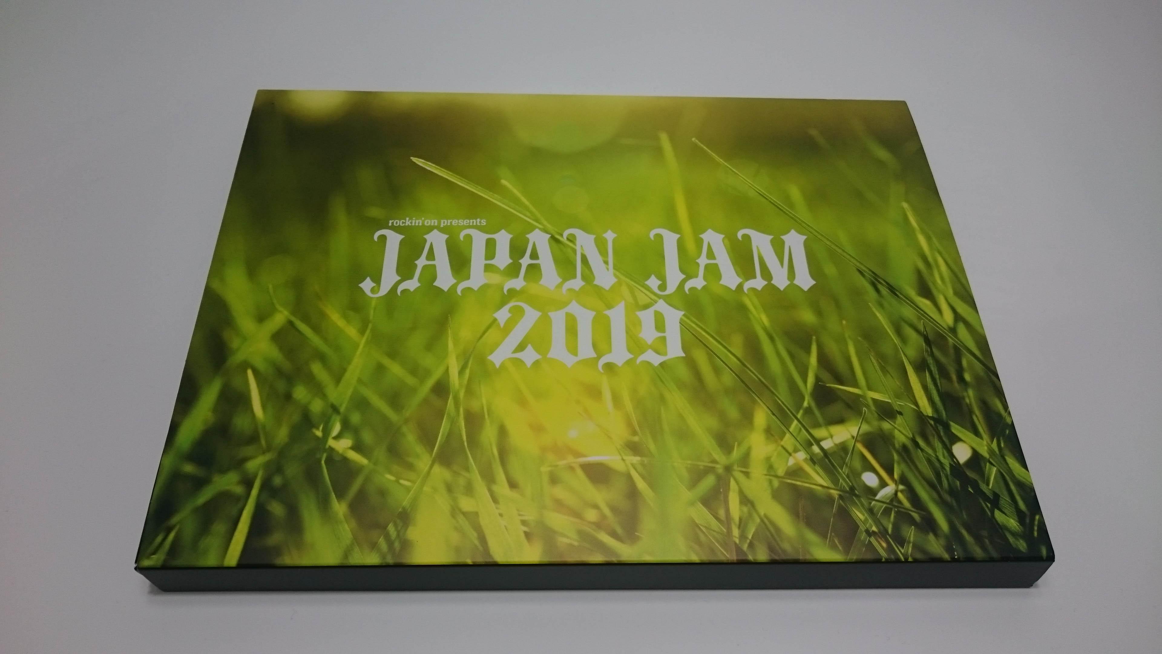 【JAPAN JAM 2019】チケットがご丁寧に箱で届いたんだが、、